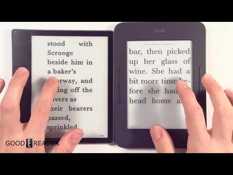 Barnes & Noble Nook Glowlight 3 Vs Amazon Kindle Oasis 2