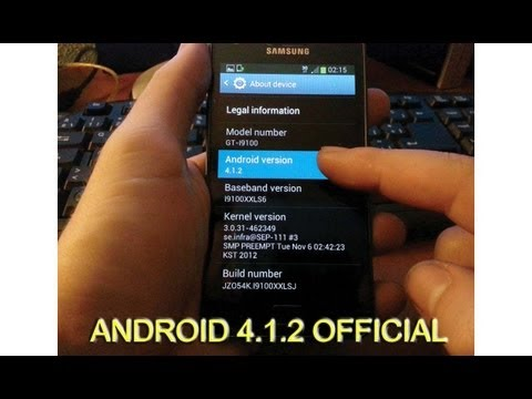 Galaxy S2 Android 4.1.2 Official Jelly Bean Review