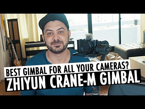 Zhiyun Crane-M Gimbal for Phones, Action Cams, Point and Shoot, and Mirrorless Cameras | RehaAlev