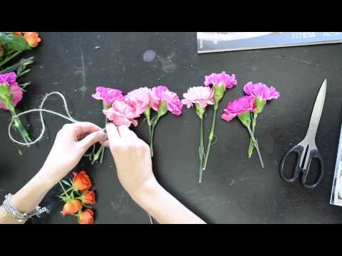 How to: Easy Flower Garland