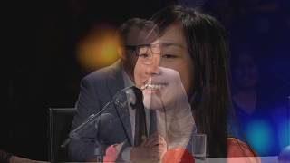 13-year-old Shaniah Llane Rollo wowed the judges with her Angelic Rendition of 'True Colors'
