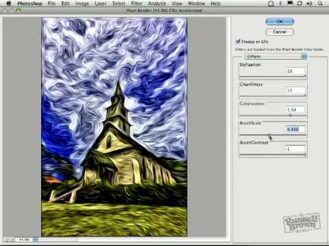 Impressionist Oil Painting with Photoshop CS5 (Part 1)