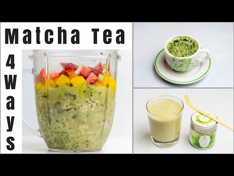 How to Make Japanese Matcha GreenTea at Home | 4 Different Matcha Green Tea Recipes | Focus Matcha