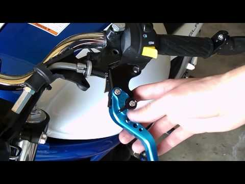 Motorcycle Clutch & Brake Lever Installation/Replacement