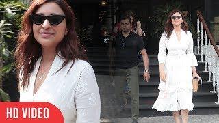 Kesari Actress Parineeti Chopra Spotted At Juhu | Viralbollywood