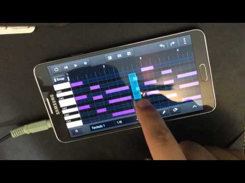Samsung Soundcamp: Android Music Apps With Low Latency on Galaxy Note 3