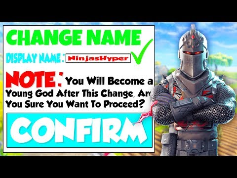 Fortnite : HOW TO CHANGE YOUR NAME! EPIC GAMES NAME CHANGE! (Easy Tutorial)