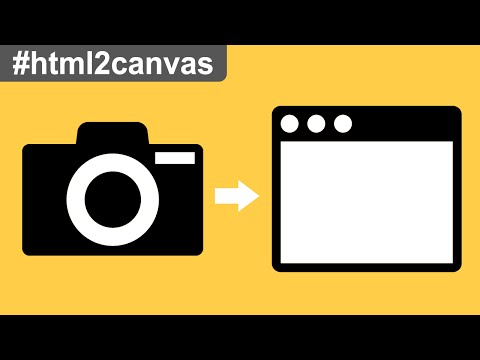 html2canvas Tutorial - Part 1: Taking Screenshot of Webpage