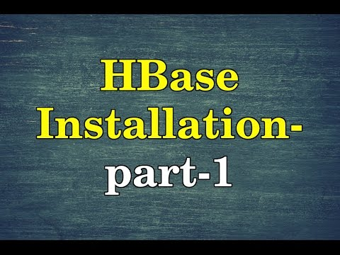 How to install HBase in Linux(CentOs 7) in standalone mode?