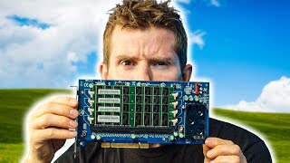WTF is this thing? - RAM on a PCI Card??