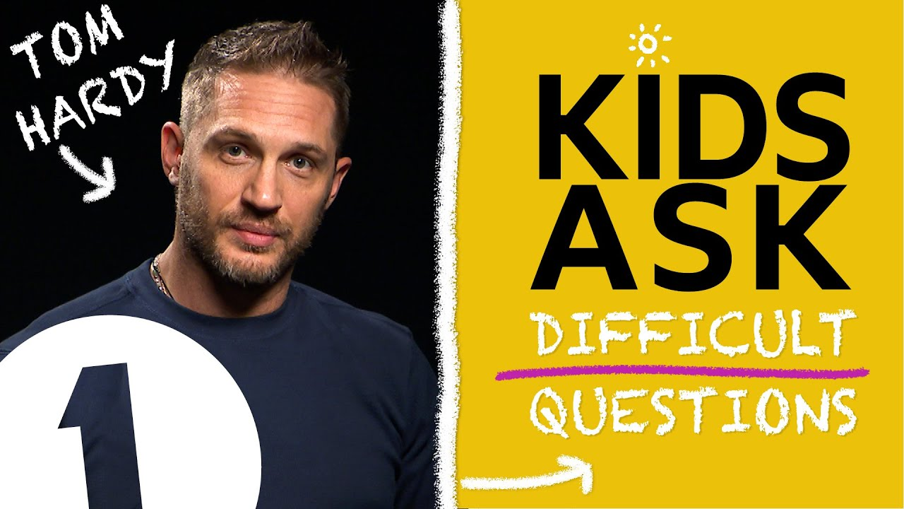 """""""What's the naughtiest thing you've ever done?"""":  Kids Ask Tom Hardy Difficult Questions"""
