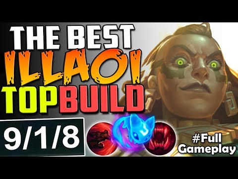 THE BEST ILLAOI TOP LANE BUILD | New Runes ILLAOI vs VLADIMIR TOP BUILD | RANKED SEASON 8 Gameplay
