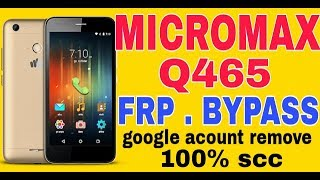 Micromax Bypass FRP Lock Solution All Module 100% Tested