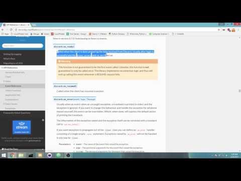 Making a Discord Bot [Windows] - Part 1