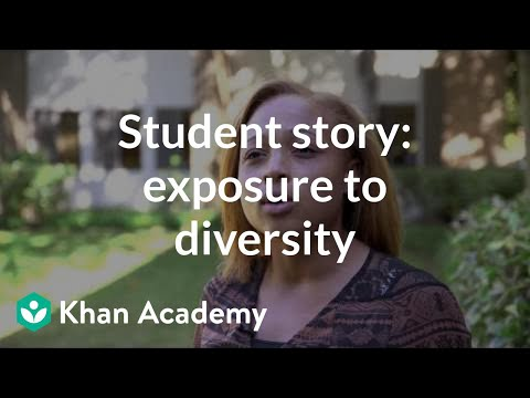 Student story: College offers exposure to diversity