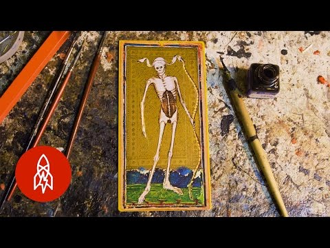 The Handmade Art of Tarot Cards