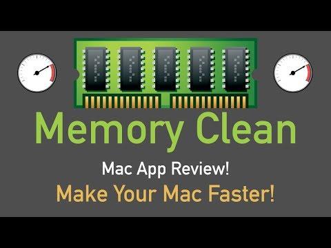Make Mac Faster With Memory Clean Mac App Review!