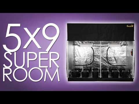 Best Grow Room Setup Design. Fully Automated SuperRoom!