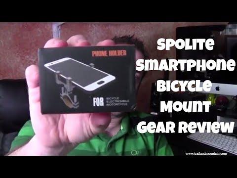 Spolite Smartphone Bike Mount Gear Review