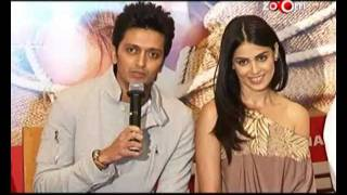 Riteish Deshmukh and Genelia talk about their marriage