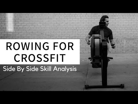 Rowing Machine Endurance for CrossFit: Better Positions
