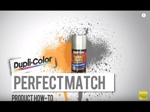 Duplicolor Perfect Match Touch-Up Paint Tutorial Overview
