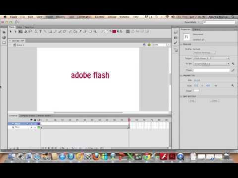 Flash CS6 (Beginners) - Mask /Spotlight Effect