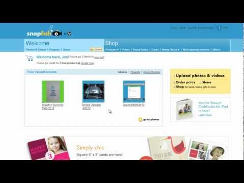Make a Photo Book using Preview Your Photo Book option | Snapfish