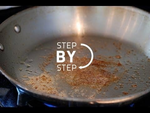 How to Deglaze a Pan, How to Make a Pan Sauce, Deglazing a Pan, Deglaze a Pan
