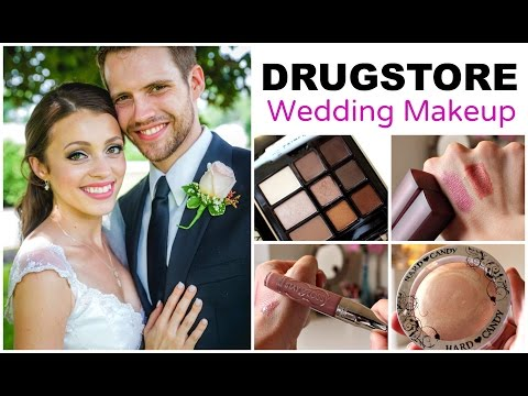 DUPES for High End Bridal Makeup | Drugstore Wedding
