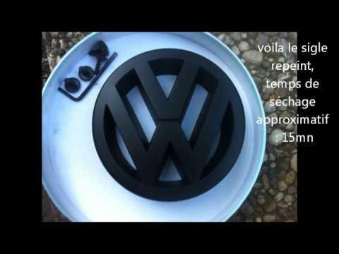 Tuning sur Polo 4 VW. étape 1 : calandre et sigle avant.