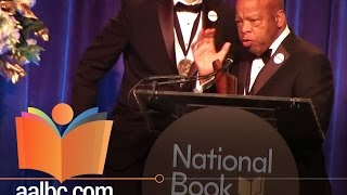 Civil Rights Icon, John Lewis Wins National Book Award!