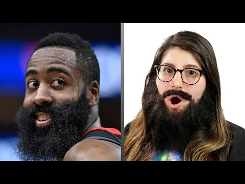 People Wear James Harden's Beard For 24 Hours