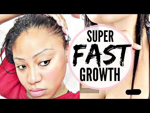 How To Get Long Hair OVERNIGHT To Grow Hair QUICK | Long Relaxed Hair 2018