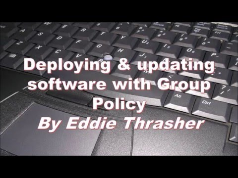 Install software with GPO in Windows Server 2012