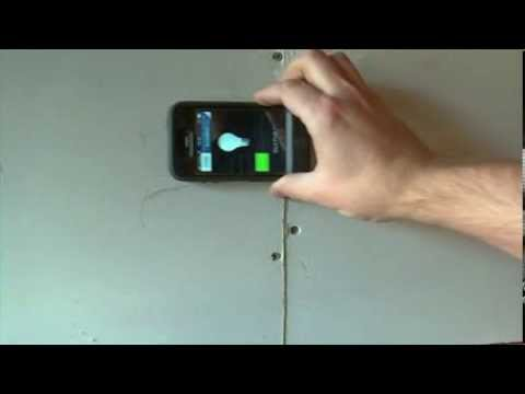 How To Find a Wall Stud with a Phone DIY