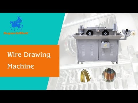 Wire drawing machine for gold, silver and copper wire making with 12 eyes - SuperbMelt
