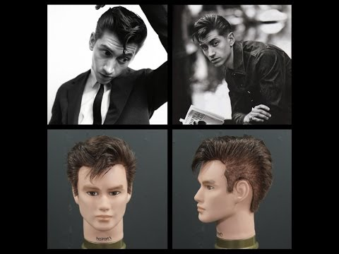 Alex Turner Haircut Tutorial & Hairstyle - TheSalonGuy
