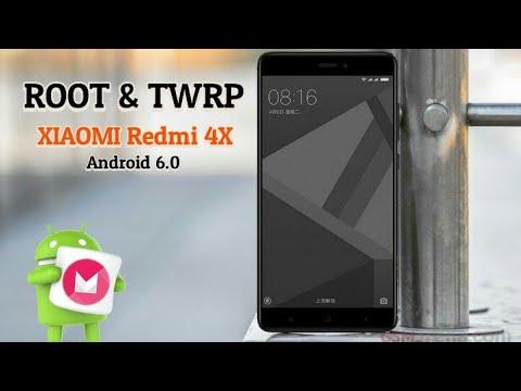 Root dan TWRP xiaomi redmi 4x android 6.0
