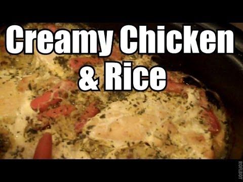 Creamy Chicken & Rice - Ninja or Slow Cooker