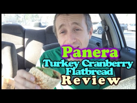 GG ep. 89 - Panera Turkey Cranberry Flatbread/Squash Soup Review