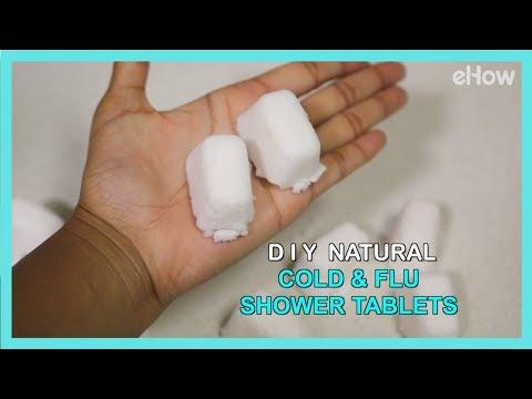 DIY Natural Shower Tablets for Cold & Flu Congestion   DIY IRL