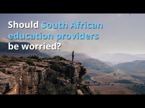 Digital, economic, consumer trends: South African education (online vs traditional)