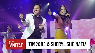 Tim2One & Sheryl Sheinafia @ YouTube FanFest Indonesia 2017