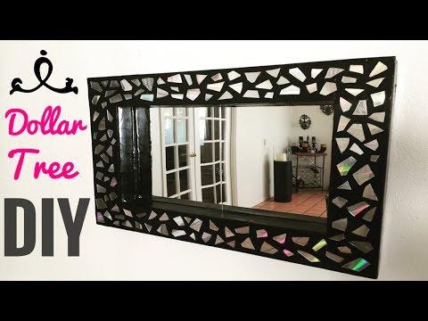 Dollar tree DIY/ Glam mosaic mirror