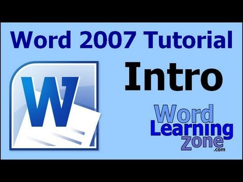 Microsoft Word 2007 Tutorial - part 00 of 13 - Introduction