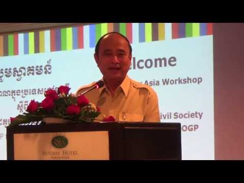 #OGPKh | Keynote Speech by Dr  Om Yentieng, #OGPinCambodia In Khmer