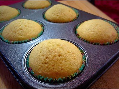 Vanilla Cupcakes   How to make Vanilla Cupcakes Recipe by (HUMA IN THE KITCHEN)