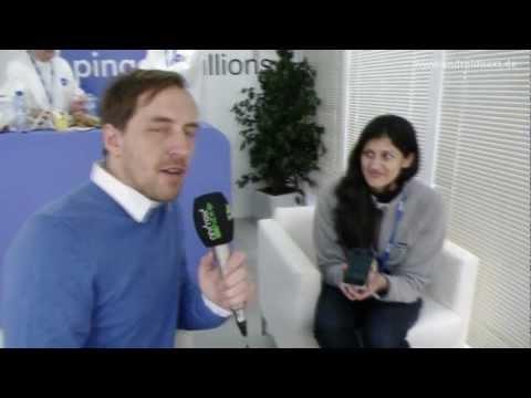 Pinger VoIP-App - Michelle Haq Interview - MWC 2012 - androidnext.de