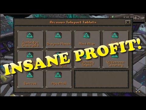 Runescape - Necromancy Teleports Money Making Guide